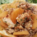 poulet aux abricots et quinoa