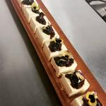 Almond, Vanilla & Blackberry cheesecake