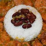 Rouvrait saucisse haricot rouge riz