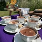 Afternoon double chocolate cappuccino milkshake! Indulge!