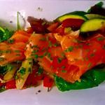 Gravelax de saumon