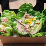 Grande salade paysanne façon niçoise