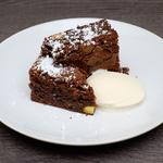 Orange & Pistacchio Chocolate Brownie