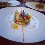 ballottine de volaille et homard au légumes d'été