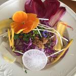 Salade d'hiver... Crumble et vinaigrette de noix