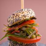 Mini-burger veggie