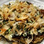 Okonomiyaki, une des meilleure spécialité d'Osaka