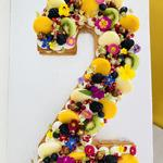 Number cake Multifruits