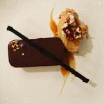 Dark Chocolate Delice, Peanut Butter Ice Cream & Caramel