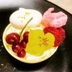 Sphère chocolatée / passion / bergamote