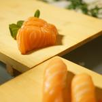 """Sashimi de saumon écossais """"Label Rouge"""""""