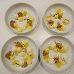 Dessert autour des agrumes et de l'estragon