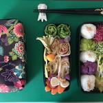 Bento Box by chef marc dussaud. Plateau repas.