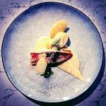 Filet de rouget sauce béarnaise et rattes