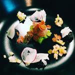 Brebis, noisette, pommes de terre et granny smith
