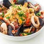 Fresh Seafood Linguini