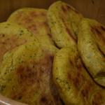 Pains Marocains au curcuma et coriandre.