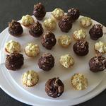 Cupcakes nutella et éclats de daim, cupcakes citron et citron vert
