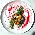 """Assiette végétarienne spécialement créer pour le """"India's Holi celebrations"""""""