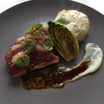Un plat Nantais ...avec le canard de challans, le navet et la racine de persil .
