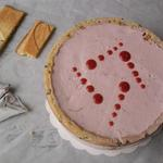 Entremet aux fruits rouges