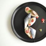 Maquereaux | Céleri | Groseille