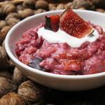 Porridge aux figues et noix torréfiées