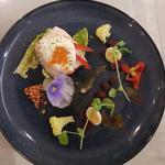 Cold wild salmon horseradish cream,caviar