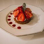 Autour de la fraise et du yuzu