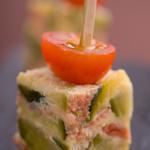 Cube de terrine de légumes