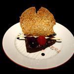 Coulant chocolat framboise