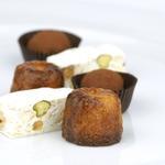 Homemade - Canelés de Bordeaux, Nougat, bitter chocolate truffles