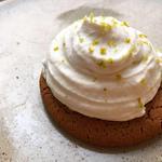 Sablé breton vanille et chantilly à la bergamote