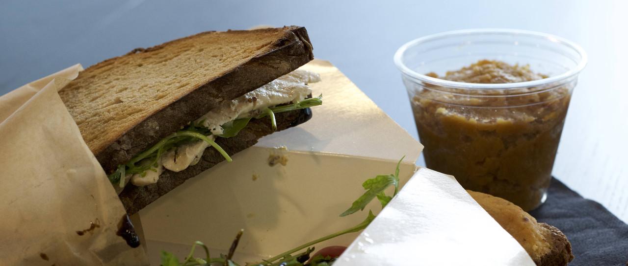 La lunchbox sandwich terroir