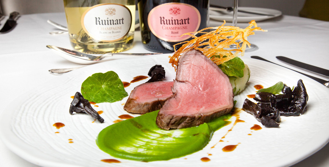 The Jewel - Paired with Ruinart Blanc de Blancs and Ruinart Rosé