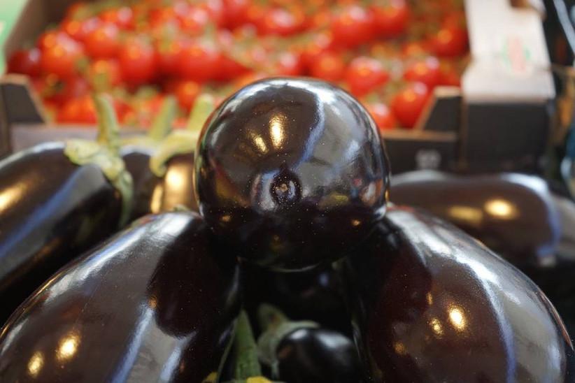 Boulettes de bœuf à l'aubergine