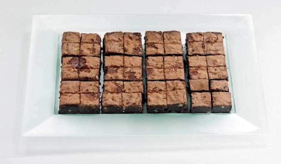 Mini Brownies - 24 pièces [Les Jardins d'Épicure]