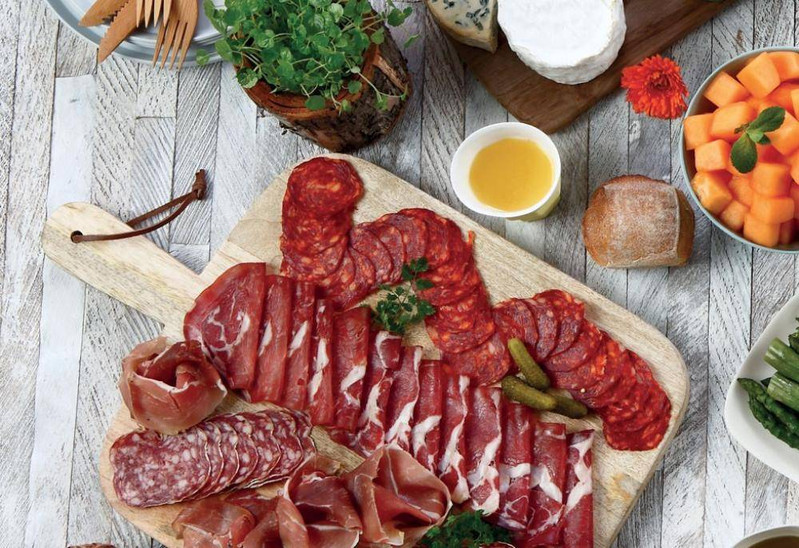Planche de charcuteries Basques