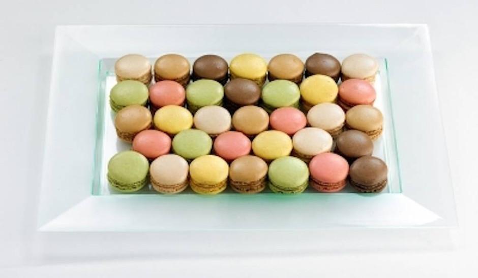 Mini Macarons - 36 pièces [Les Jardins d'Épicure]