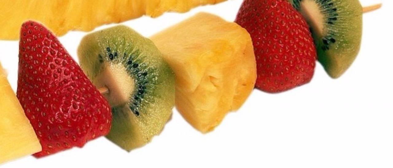 Brochettes de Fruits - 12 brochettes [Les Jardins d'Épicure]