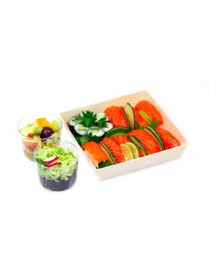 Saveurs du monde - Sushis saumon et Makis concombre [Le Comptoir du Riz]
