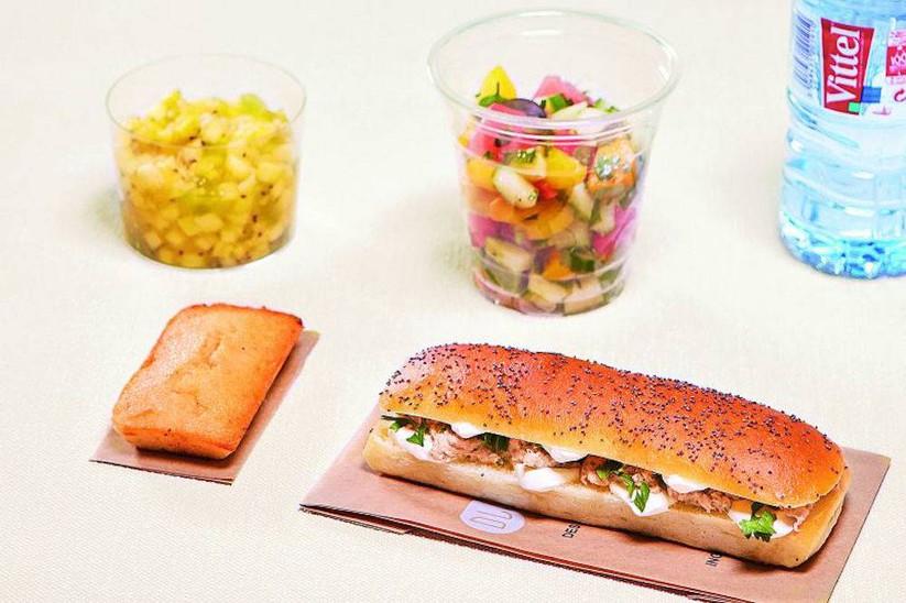 Déjeuner Livré Snack - Dieppois