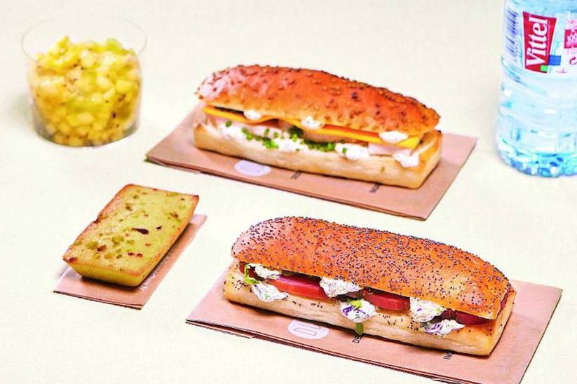 Déjeuner Livré Snack - Terre et mer