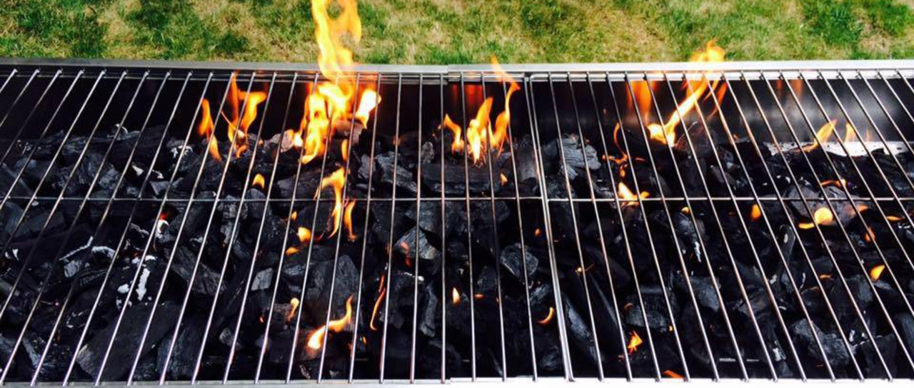 Posh Charcoal BBQ
