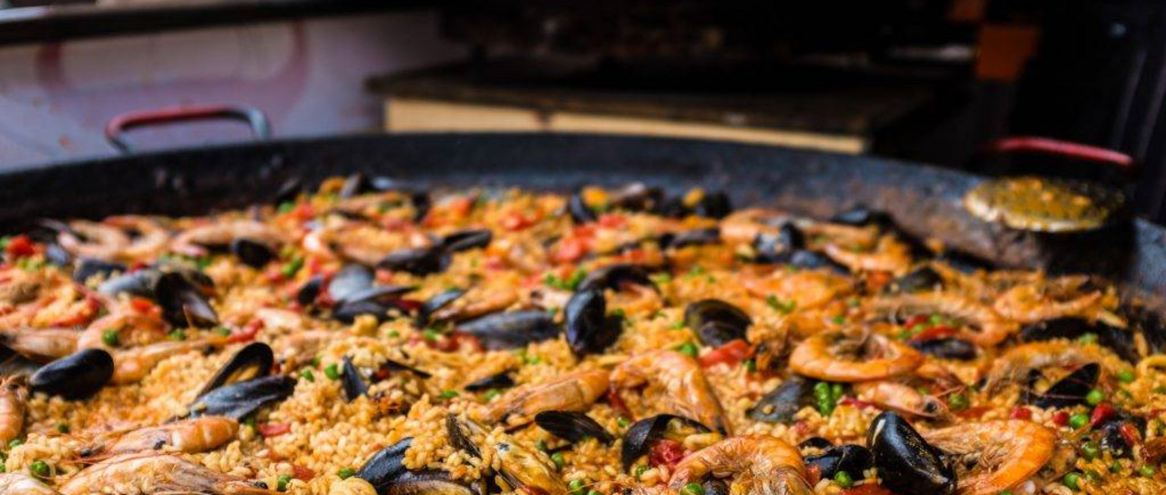 Outdoor Paella Party