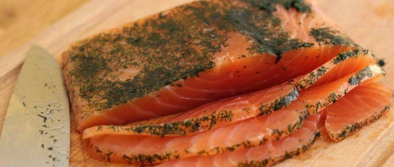 Menu tout poisson