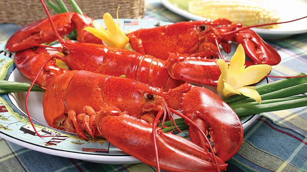Crabmeat, Lobster, Mango