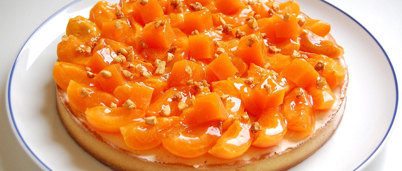 Dessert - Tarte Abricots-Amande