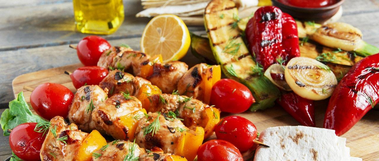 Vegetarian Summer Bbq