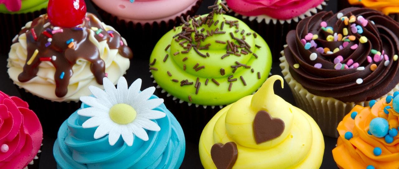 Plateau de mini cupcakes
